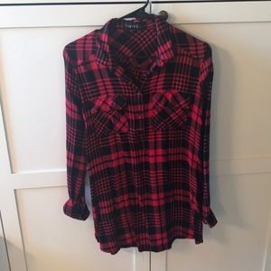 Timing Tops - Buffalo Plaid Tunic Dress or top